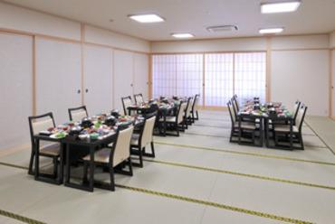 和と洋のコラボレーション 2階 30畳広間