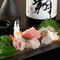 千葉を中心に、三崎港など近郊湾で獲れた地魚が楽しめます