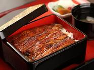 関東を誇るブランド鰻「坂東太郎」を使った『鰻重 各種』