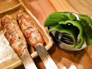 【大人気!イチオシ!】つくねピーマン ~「あぶりや」からつくねの美味しい食べ方!~
