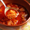 体の芯から温まるガーリックスープ
