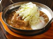 6時間煮込んだ秘伝のスープが、美味なる味わいを生む『肉豆腐』