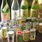 カップ酒約30種、日替わり4~6種の日本酒を取り扱っています