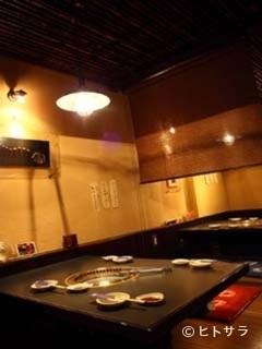 焼肉料理 宙の料理・店内の画像2