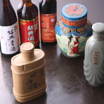 中国年代物の紹興酒