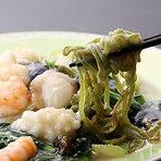 海の幸と中国野菜の塩味あんかけヤキソバ