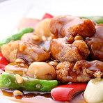 とってもやわらか上海風バラ肉黒酢スブタ