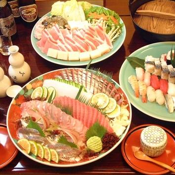 希満里(けまり) 2時間飲み放題付 ご宴会5000円コース
