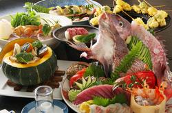 コースの内容は、お客様のお好きな品をお選び頂けますので、食べたい品をフルコースでお楽しみ下さい!