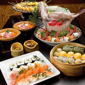 「旬家」オリジナル和食フルコース 料理一例