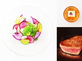 【黒毛和牛フィレステーキ御膳】黒毛和牛フィレと鎌倉野菜を堪能