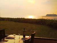 江ノ島の景色と四季折々の料理が楽しめ、記念日などに最適です