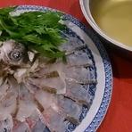 旬鍋 桜鯛しゃぶしゃぶ(1人前1280円御注文は2人前より)