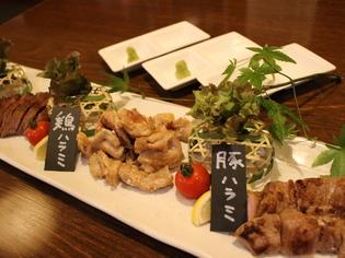 食感の違いを楽しんでほしい『牛・豚・鶏ハラミ3種の食べ比べ』