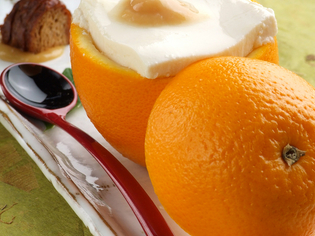 柚子の爽やかな薫りと豆腐の旨味が際立つ八寸『柚子釜』