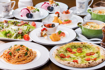 お気軽にイタリアンが楽しめるコースです。