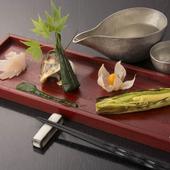 野菜の美味しさを改めて知る創作料理の数々