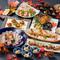 寒鰤の御造り,河豚の小鉢,金目鯛やあん肝豆富,牛バラ肉の煮込み,ずわい蟹の焼きおにぎりなど旬が満載です