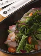 魚介と海草のサラダ 桜藩ドレッシング