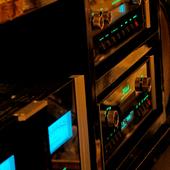 McIntoshのアンプとJBLのスピーカーが豊潤な音世界を生み出す