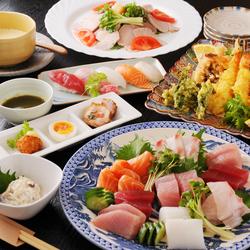 各種ご宴会にオススメの長楽の定番ご宴会コース!!お料理&2時間飲み放題付です。