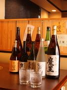 日本酒、焼酎、各種取りそろえております。