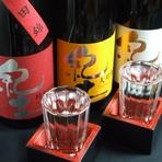 日本酒、焼酎も沢山用意しています