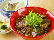 テールスープ・お新香付 (プラス温玉付き!)