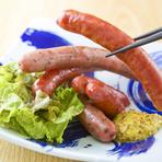 旬の素材をふんだんに使った、各種創作料理、ぜひご賞味ください!