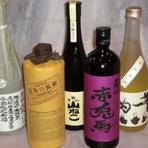 宮崎県産の芋焼酎や長崎県産の麦焼酎を中心にご準備しております