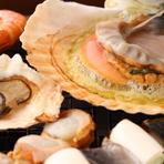 ●海鮮 「網焼き」 (一舟)