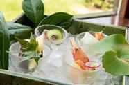 季節の新鮮な魚介が彩る『旬魚のお造り盛合せ』