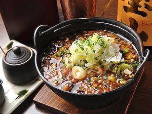 牛すじ肉と豆富をじっくり煮込んだ10食限定「肉豆富」