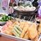串カツをはじめとし大阪の味を数多くラインナップ!