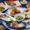 「浜鍋」又は「栗豚の野菜ロール鍋」の二種の鍋からお好みでお選びください。
