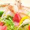 旬の産直野菜を素材の味を活かして