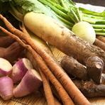信州の、身体が喜ぶ美味しい旬野菜を贅沢に使用しております。