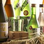 長野を代表する日本酒や焼酎、ワインなど豊富にラインナップ。