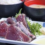【小】 ちょい盛り たれたたき定食(5切)
