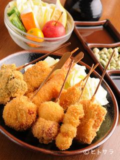 民藝串カツ 串亭の料理・店内の画像1