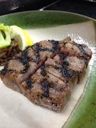 小鉢・みそ焼きステーキ100g・味噌椀・香物・ご飯