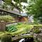 吉亭の日本庭園
