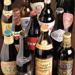 世界各国のビールが豊富。異なる香りや味わいを試してみては