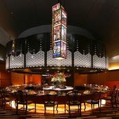嶋の海鮮鉄板焼きレストラン「青海波」