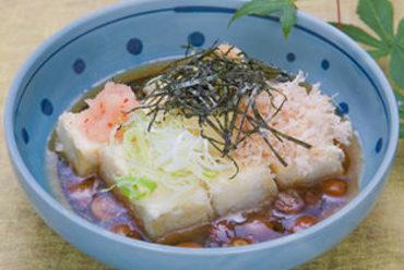 当店ロ~ングヒット商品です。揚げ出し豆腐!