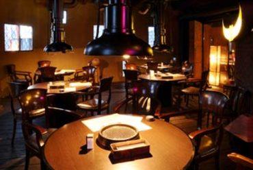 宴会に最適なテーブル席は最大40名様までOK。