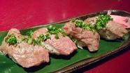 ・和牛あぶり寿司