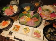 コース料理は2500円~ご用意いたします