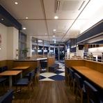 名張駅東口のオシャレスポット。ドリンクとフードが充実のカフェ