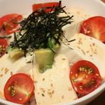 豆腐とアボガドのヘルシー丼ランチ(スープ付)*夏限定メニュー